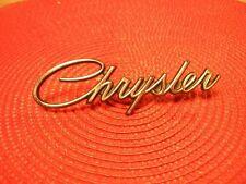1968 Chrysler NOS MoPar #2840010 Trunk Lid EMBLEM Newport New Yorker