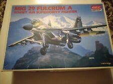 ACADEMY MIG 29A FULCRUM A FORMER SOVIET JET FIGHTER  PLASTIC MODEL 1/48