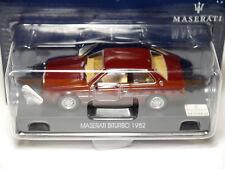 Maserati Biturbo 1982 in rot rouge rosso roja red metallic, GP #17 in 1:43 boxed
