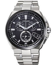 Citizen Eco-Drive Attesa Atomic Global Radio Duratect Men's Watch BY0040-51F