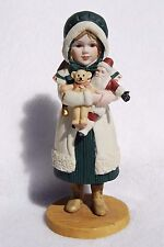 JAN HAGARA COLLECTABLES PORCELAIN FIGURINE - NOEL - CHRISTMAS  - 1987-8 - RARE