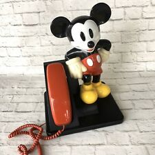 Walt Disney Vintage Telephone Mickey Mouse Phone Tested Working Cartoon AT&T