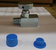 NVS-CS-1/4-GS180-MXF CARBON STEEL SUPER MINI NEEDLE VALVE 1/4
