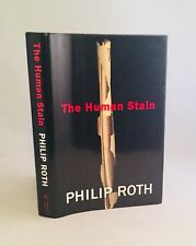 The Human Stain-SIGNED!!-INSCRIBED!!-TRUE First Edition/1st Printing!-VERY RARE!