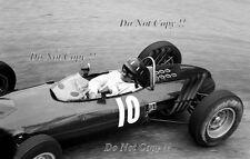 Graham Hill BRM P57 Grand Prix de Mónaco 1962 fotografía 3