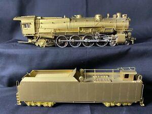 Seiko Models HO Scale Brass Pennsylvania Railroad Class MIB 4-8-2 - GC