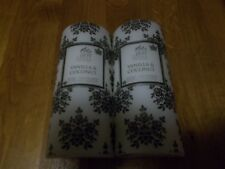 Shearer Vanilla & Coconut scented pillar candles x 2