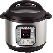 Instant Pot IP-DUO80 7-in-1 Programmable Electric Pressure Cooker, 8 Qt Slowcook