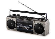 Medion 80S Style Boombox E65131 Bluetooth USB FM Cassette Recorder RADIO Am SW