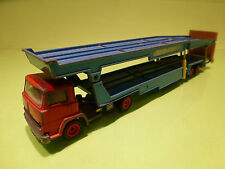 SIKU V275 MAGIRUS TRUCK + CAR TRANSPORTER 1:50? - GOOD CONDITION