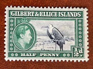 Gilbert &Ellice Islands 1/2d 1939 Mint Good