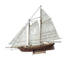 Holz Segelboot Ausrüstungs Ausgangsmodell Dekorations Boots