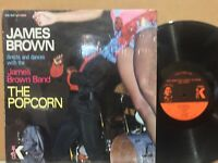 James Brown Directs Dances The Popcorn VG+ ORIG KING IN SHRINK incredible copy