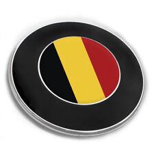 "Emblem Aufkleber ""Belgien"" für alle BMW Autos Flagge Land Motorhaube 3 Stück"
