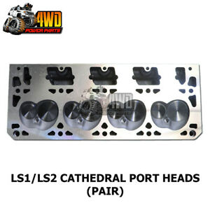 Performance Cathedral Port Cylinder Heads (Pair) to Suit Holden LS1 / LS2