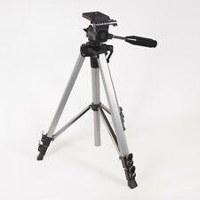 Miranda 600 Aluminium Video Tripod With 3-Way Head with Pan Handle