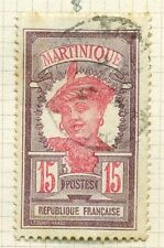Martinican Used French & Colonies Stamps