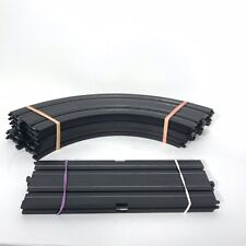 "HO Slot Car Track Parts Life Like Racing Tracks 6 Curved & 2 Straight 9"""