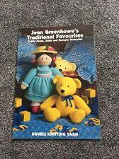 JEAN GREENHOWE TRADITIONAL FRIENDS KNITTING PATTERN BOOKLET