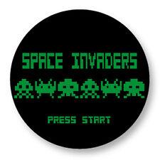 "Pin Button Badge Ø25mm 1"" Space Invaders Retro Game Jeu Vidéo Arcade"