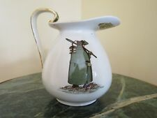 """Royal Doulton Dickensware """"Watchman - What of the Night"""" Pitcher 383666 (c.1910)"""