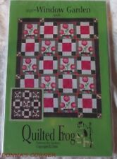 WINDOW GARDEN QUILT PATTERN BY QUILTED FROG ~NEVER USED