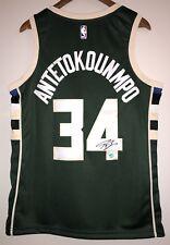 Giannis Antetokounmpo Autograph Bucks Signed Nike NBA Jersey (Antetokounmpo  COA) 14dc43743