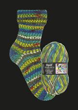 Opal Hundertwasser I Sockenwolle 100g-knäuel 1433-897 Silver Spiral