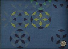 Momentum Arrange Tilt Modern Contemporary Geometric Royal Blue Upholstery Fabric