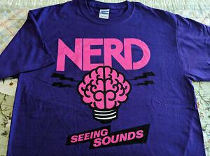 Rap Promo T-Shirt N.E.R.D. - Seeing Sounds STAR TRAK ENT L Pharrell NEPTUNES NM