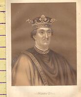 C1860 Vittoriano Stampa ~ Henry II