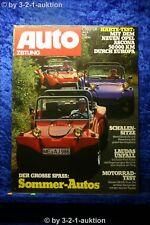 Auto Zeitung 18/76 Opel Ascona Buggies Laudas Unfall Honda CB 550 Four