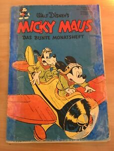 Micky Maus Nr. 1- September 1951 Original! Kein Nachdruck!