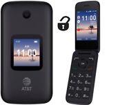 Unlocked BASIC GSM FLIP PHONE FOR AT&T T-MOBILE CRICKET Alcatel - SMARTFLIP