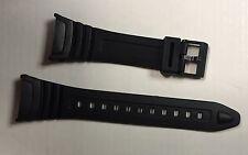 Casio Negra De Repuesto Correa de banda reloj de W96H