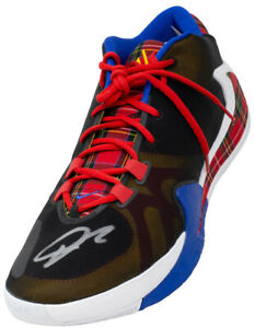 Giannis Antetokounmpo Signed Right Nike Coming to America Shoe BAS ITP