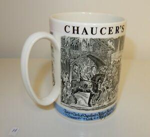 Wedgewood Chaucer's Canterbury Pilgrims Commemorative Mug / Tankard  (H)