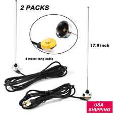 VHF 136-174MHz NMO Antenna NMO Mount to UHF PL259 RG58 Cable For Mobile Radio