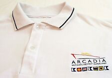 More details for p&o cruise ship arcadia (britains newest super liner) rare polo shirt 'xl' used