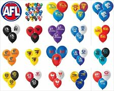 AFL Birthday Party Helium Quality Balloons 25 Pack! Collingwood Magpies