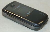 LG VX5600 Accolade GRAY Verizon Wireless Flip Keypad Cell Phone 1.3MP Camera -C-