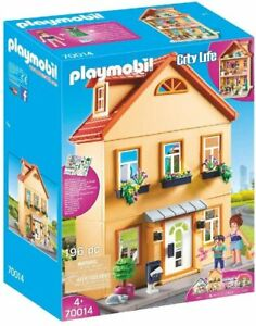 Playmobil 70014 City Life My Little Town House with Furniture 196 Piece Set NEW