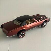 Hot Wheels Redline Custom Eldorado Brown US Base 1968