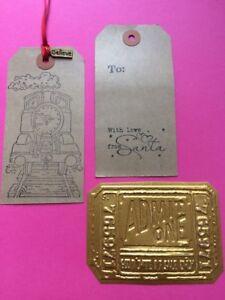 Polar Express Santa's Golden Ticket & Believe Charm Xmas Eve Box Gift Colour In