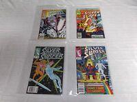 VINTAGE 80's 90's Marvel Silver Surfer Comic No. 3, 12, 35, 59 GRADED 9.2