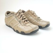 DIESEL EVELYN BIEGE LEATHER FASHION SNEAKERS CASUAL SHOES Womens Sz. 7