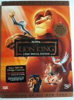 Disney the lion king DVD platinum Edition