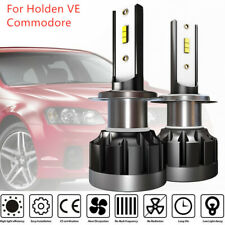 H7 LED Headlight Bulbs 96000LM Low Beam Globes For Holden Commodore VE Series