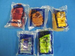 (5) 2003 McDonald's Happy Meal Toys Hot Wheels Highway 35 World Race Mattel D-13