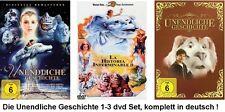 Die unendliche Geschichte 1-3 dvd Filme Set, NEU/OVP, deutsch, 1,2,3, I,II,III